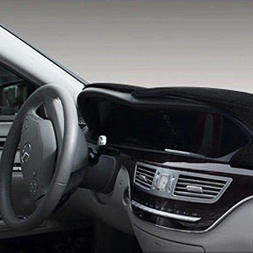 茹艺 奔驰c200 c180 b200c系 e系 s350汽车仪表台避光垫隔热内饰改装