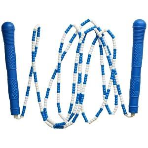 跃动专业正品701d花样竹节绳 学生珠节跳绳 花样绳子图片