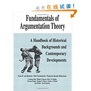 Fundamentals of Argumentation Theory: A Han