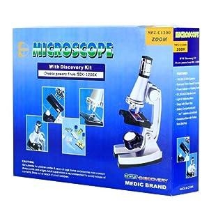 1200倍儿童金属显微镜 学生显微镜 科普ZKSTX 1200 2.1小组,1200