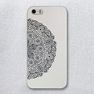 hidog原创v苹果苹果半圆iphone5/5s手机壳套中国风设备款情侣拆运铜陵彩绘图片