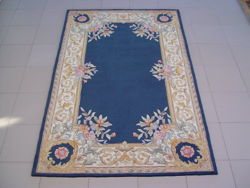 湖蓝色欧式地毯