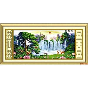 蒙娜丽莎十字绣风景新品上架价格,蒙娜丽莎十字绣风景新品上架 比图片