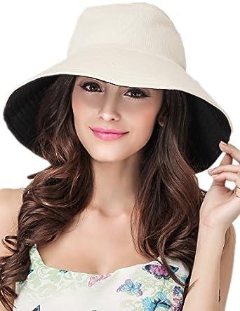 蒂芙莎 帽子女男士夏天两面可戴防晒帽情侣帽子渔夫帽