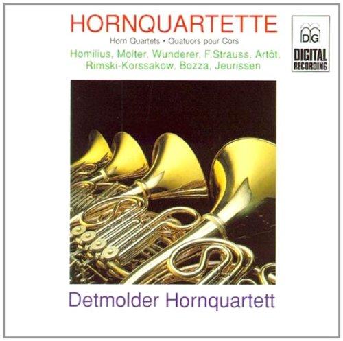进口CD 法国号四重奏曲集 Horn Quartets CD 32403242