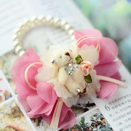 玉曦影 英伦韩式小清新 婚庆新娘伴娘手腕花 可爱蝴蝶