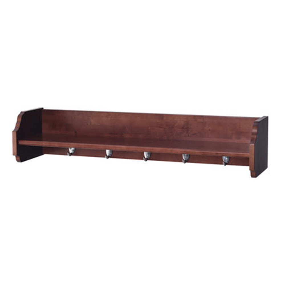 墙体置物架实木墙上置物架墙板一字搁板木板