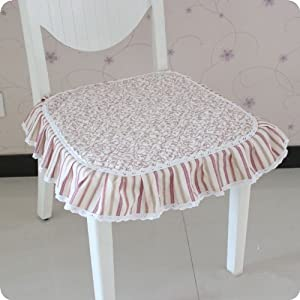 尚品屋 包边防滑绗缝坐垫椅垫沙发垫汽车垫子餐椅垫椅子垫 (凤尾花)