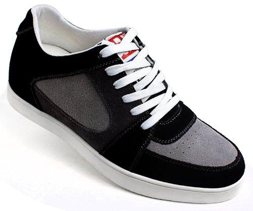 高哥独家首发男士内增高休闲板鞋91418-6.5厘米