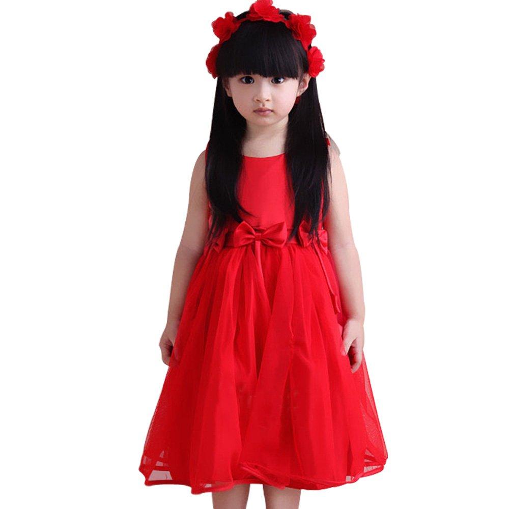 装女童 花童婚纱礼服裙公主裙纱裙儿童蓬蓬裙连衣裙