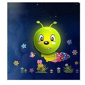 欣兰雅舍 卡通贴纸壁灯现代简约创意儿童房 可爱立体