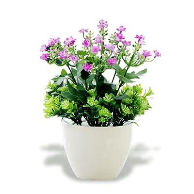 塑料绢花 家居客厅绿植盆栽装饰花盆景套装