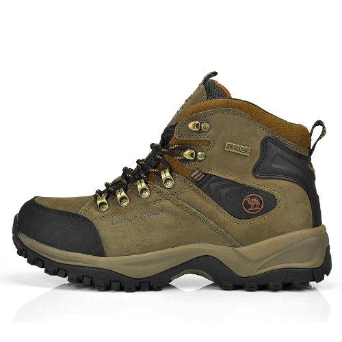 Can·Torp 骆驼 正品 男士高端户外登山鞋徒步鞋透气男鞋防水高帮鞋子C14011