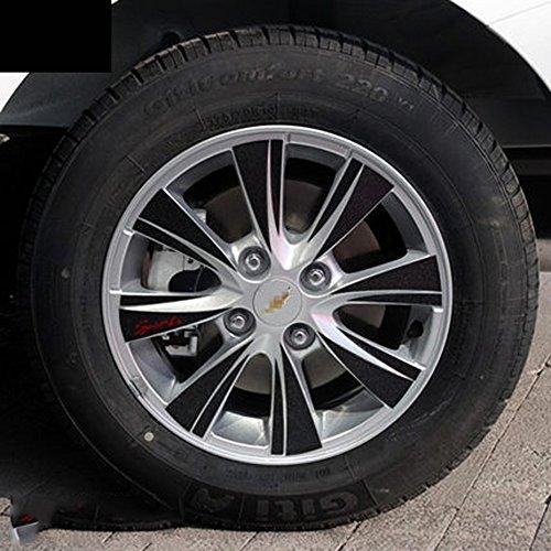 雪佛兰赛欧3轮毂贴车轮贴 15款新赛欧专用轮毂贴 轮毂碳纤维贴纸 15款