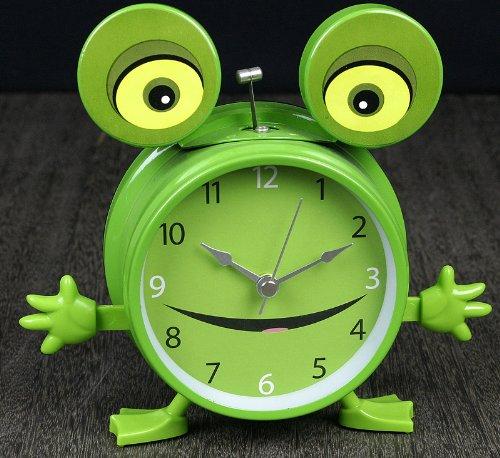 dannol 德高 可爱卡通动物台钟 真声动物青蛙叫声钟表 摇摆手臂时钟 4