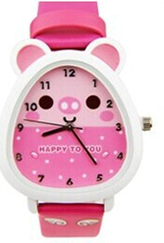 kezzi 珂紫 韩版时尚新款天使小宠超萌小松鼠卡通手表儿童手表生日