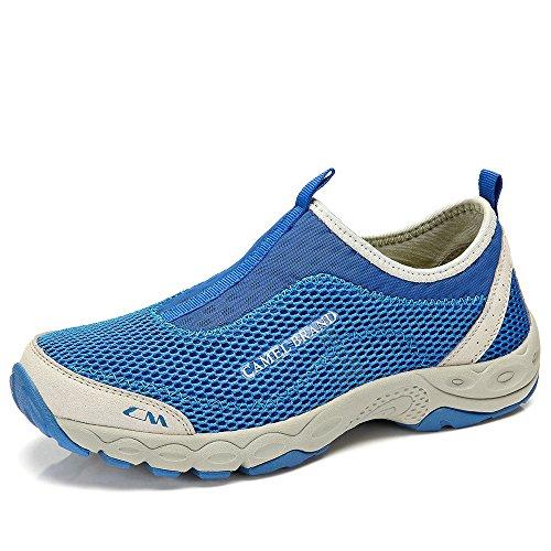 骆驼牌 户外运动休闲鞋 网鞋 2014夏季新款透气鞋超轻徒步鞋男鞋W422326016