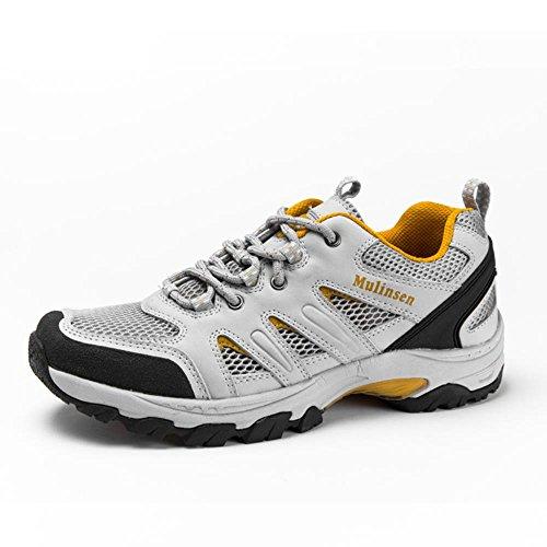 木林森 男鞋户外男士徒步鞋透气防滑减震运动鞋