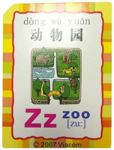 英语学习识字卡:单词(动物园)图片