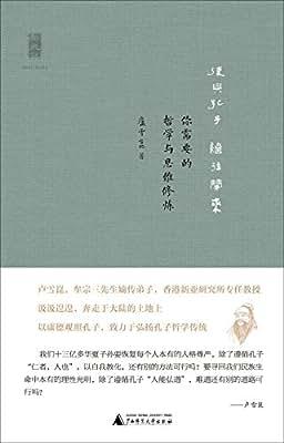 新民说 复兴孔子 继往开来:你需要的哲学与思维修炼.pdf