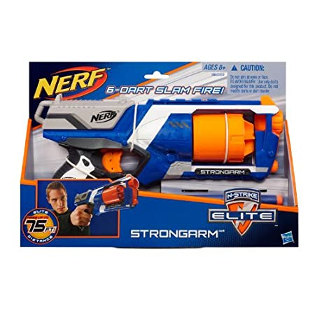 Hasbro 孩之宝 Nerf 热火 Elite 精英系列 野牛发射器 软弹枪 A0710 89元