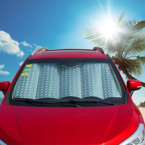 h 镭射汽车遮阳挡 前挡风玻璃挡板 隔热防晒遮光遮阳板 汽车遮阳挡