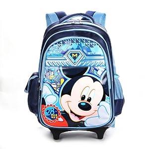 迪士尼书包 拉杆书包