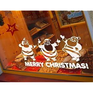 圣诞老人四 新饰线墙贴纸