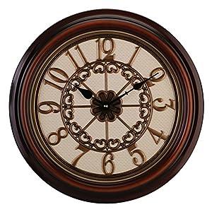 欧式复古钟表客厅卧室大挂钟创意静音石英