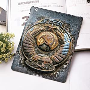 手机工坊 ipad 2/3/4 通用背壳 彩绘 手机壳 手机保护壳 尘封军徽