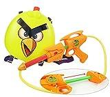 HABIBI 愤怒的小鸟背包式水枪 气压水枪 儿童夏日戏水玩具(颜色随机发)-图片