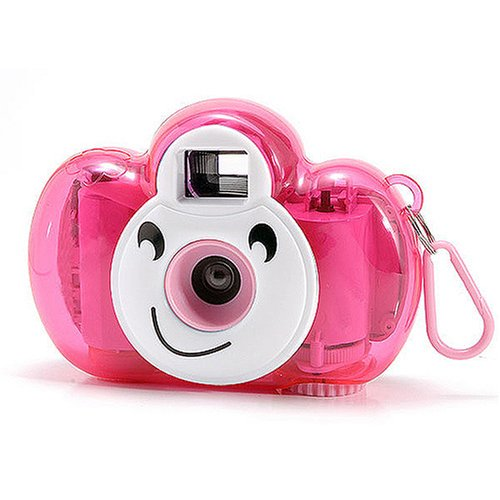 lomo相机 可爱熊宝宝相机(深粉)