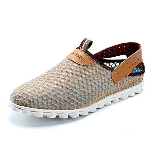MULINSEN 木林森 2015夏季爆款男鞋软网面正品凉鞋 透气时尚休闲男网布鞋