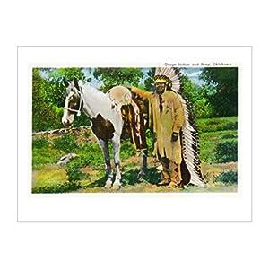 着色摄影|人物装饰画|花灯出版社收藏|马|家畜|动物