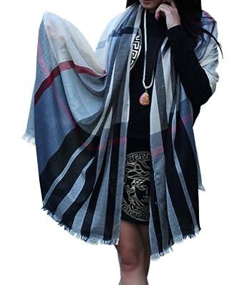 韩国大方巾的系法详细图解