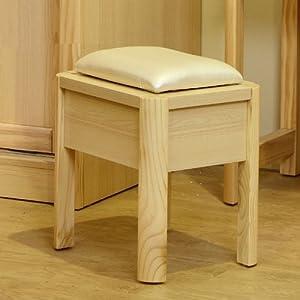 现代中式简约风格妆凳