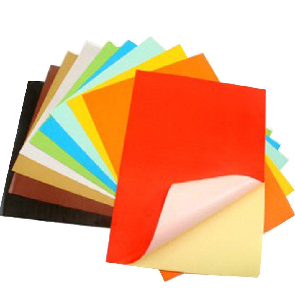 七色花 幼教幼儿园diy手工美术创意制作材料背胶彩色