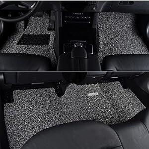 r.h 丝圈汽车脚垫 专车专用 热熔环保材料 比亚迪 比亚迪速锐 白加黑