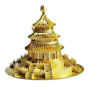 3d立体拼图 金属拼图 著名建筑模型