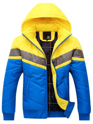 DANJIESHI   御寒必备。高质量保暖棉衣 加厚棉服 冬装男棉外套YJ616