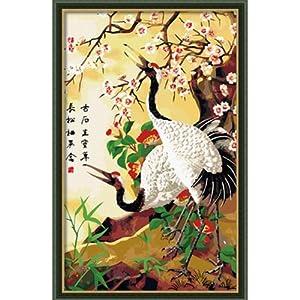恋美 数字油画 diy手绘数字画 家居装裱艺术挂件 墙面