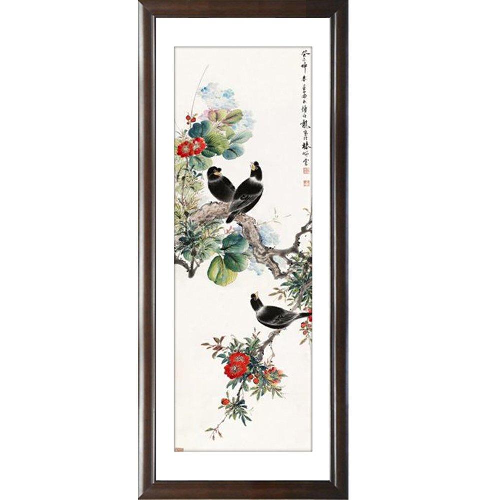 风景花鸟中国画