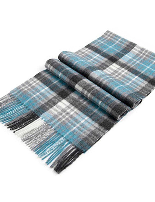 水纹针围巾步骤图解