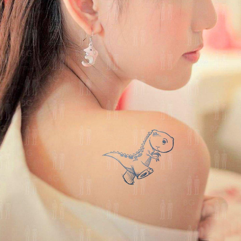 bg纹身贴inspire系列之小恐龙