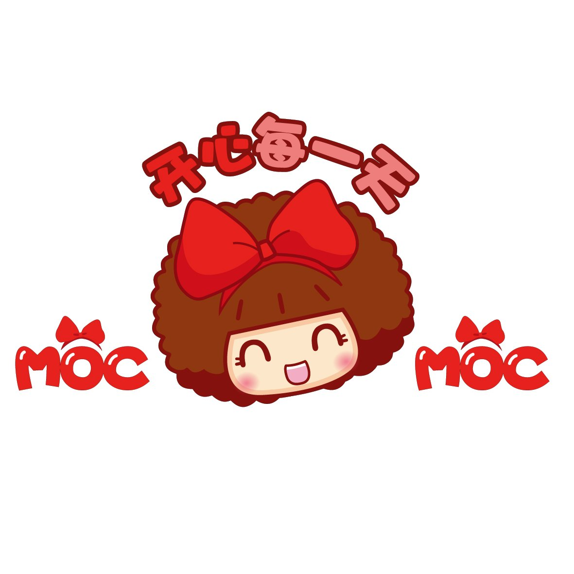 汽车贴纸 mocmoc 摩丝娃娃开心每一天 机盖贴 汽车划痕贴 搞笑可爱
