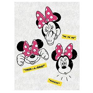 disney 迪士尼 卡通无框装饰挂画系列之米妮俏皮女孩a2