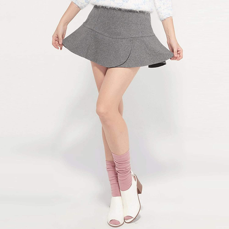 欧美花边裁剪半身短裙