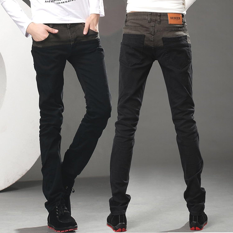 黑色牛仔裤子搭配图片