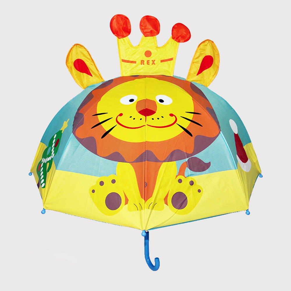 儿童卡通造型伞男女可爱宝宝小雨伞公主伞