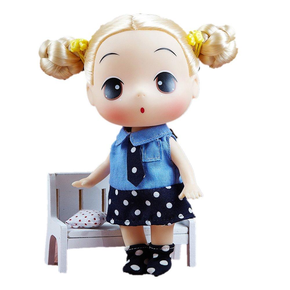 冬己 人偶娃娃可爱娃娃女孩玩具礼物